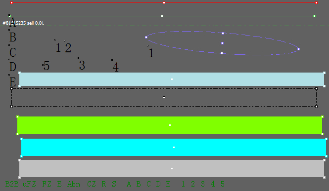 Metatrader4 Color Objects Indicator